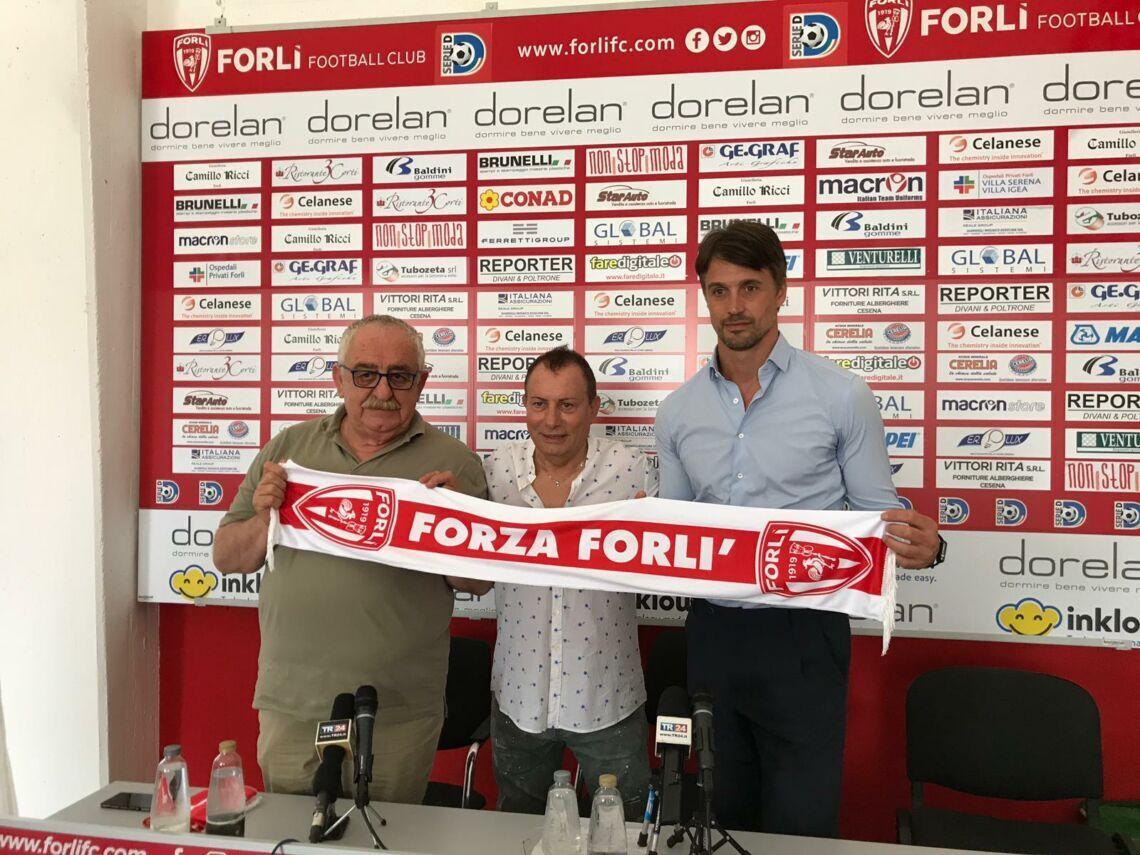 Calcio D, si separano le strade del Forlì e di Massimo Paci