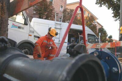 Partito il cantiere di rete idrica Hera in via Giarabub a Cesena