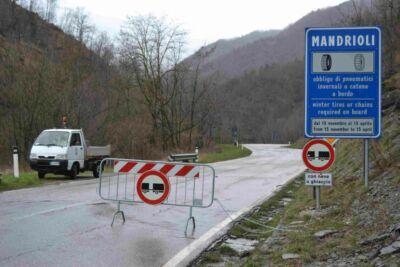 Bagno di Romagna, sequestrato tratto della sp Dei Mandrioli