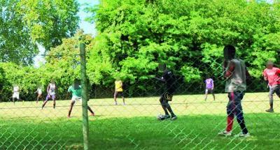 Lugo, calcio e assembramenti