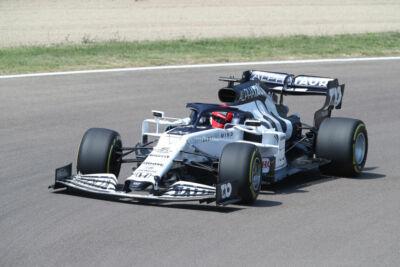 Formula 1, l'Alpha Tauri prova a Imola