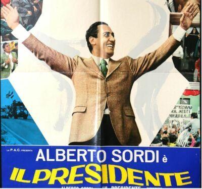 I 50 anni del mitico Borgorosso con Alberto Sordi presidente