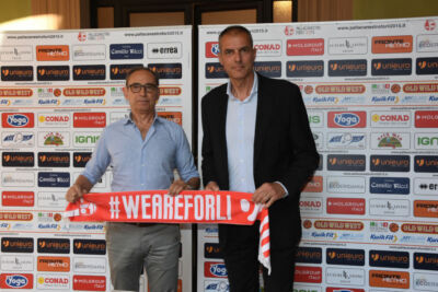 Ufficiale: l'Unieuro Forlì e il tecnico Dell'Agnello ancora insieme