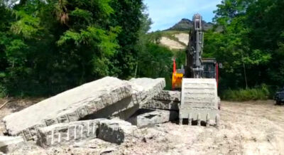Ciclopista del Santerno, lavori fermi in attesa di chiarimenti