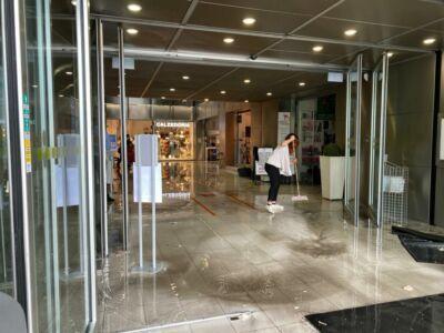 Nubifragio e grandine si abbattono sul centro di Cesena - VIDEO