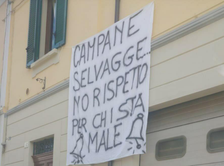 Cesena: torna la protesta contro le campane della chiesa di Borello