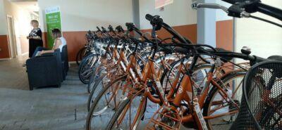In treno a Rimini, la bici costa meno