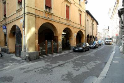 Forlì, lavori in corso Garibaldi