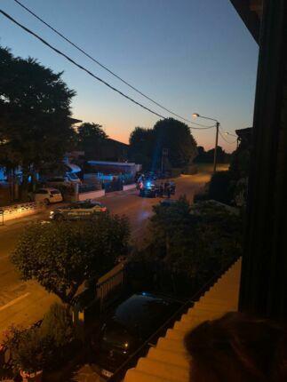 Carabiniere falciato dai ladri a Mordano, la testimonianza