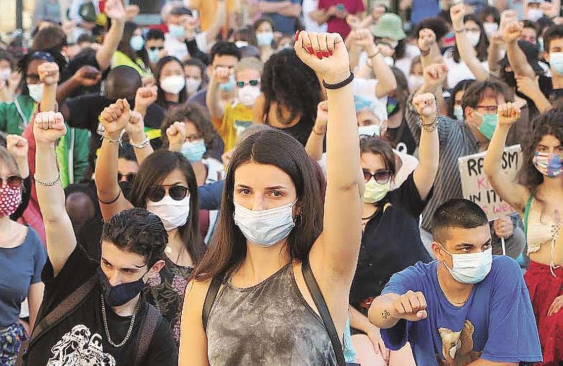 """Sabato a Rimini """"Black lives matter"""" contro il razzismo"""