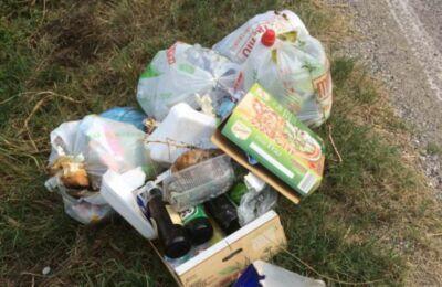 Pendolari dei rifiuti abbandonati: raffica di multe ai sammarinesi