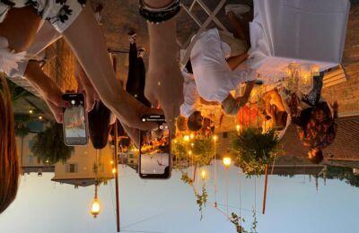 Fascinosa cena solidale sul ponte di San Martino a Cesena