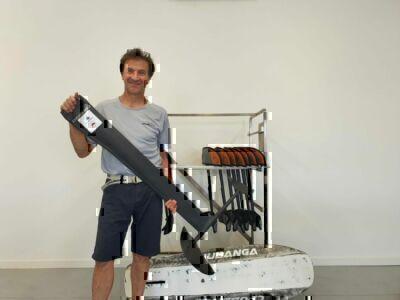 Luca Filippi, il produttore dell'hydrofoil
