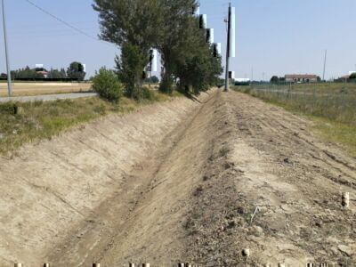 Forlì, lavori al Rio Bolzanino