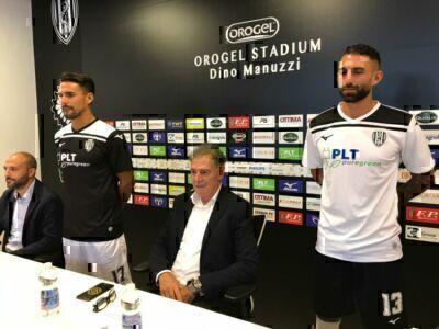 Calcio C, ecco le nuove maglie del Cesena