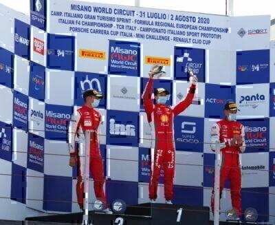 Automobilismo, Leclerc Junior vince a Misano