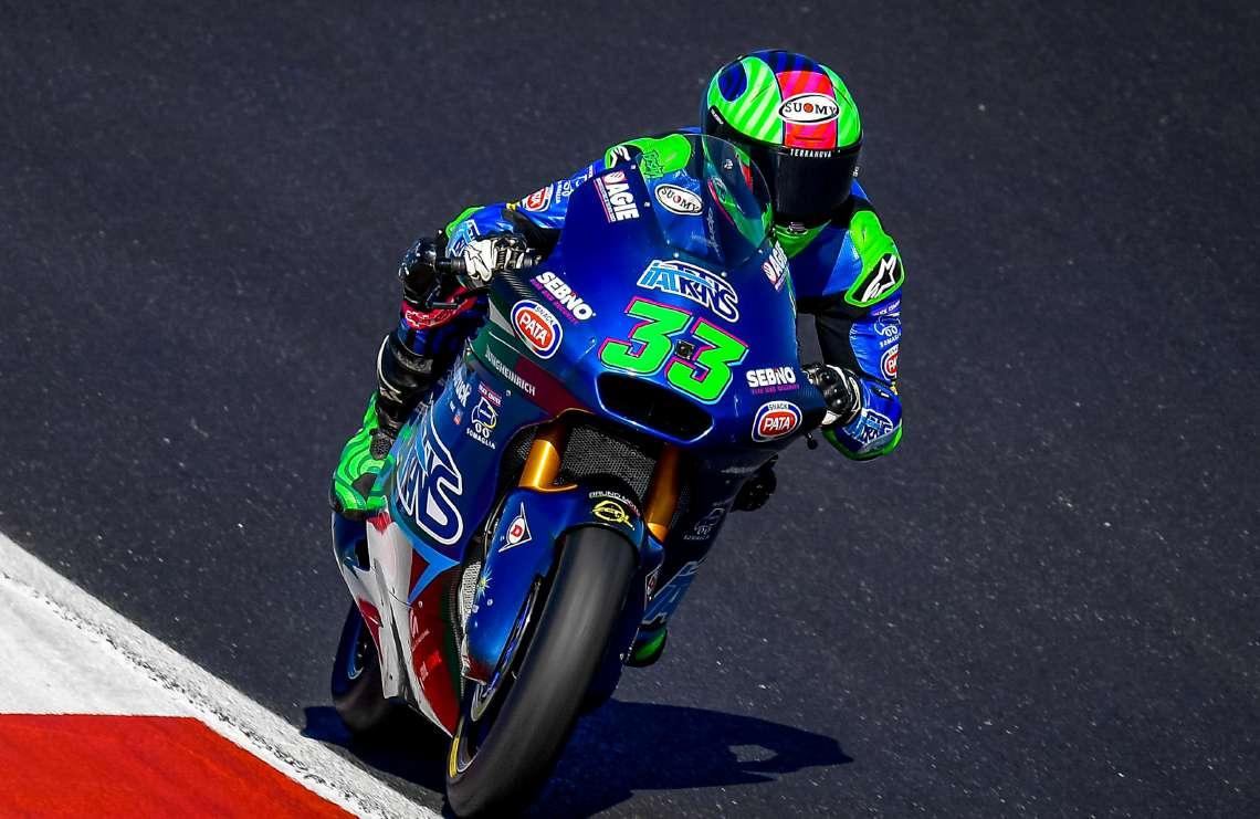 Moto2, la domenica storica di Bastianini e Bezzecchi
