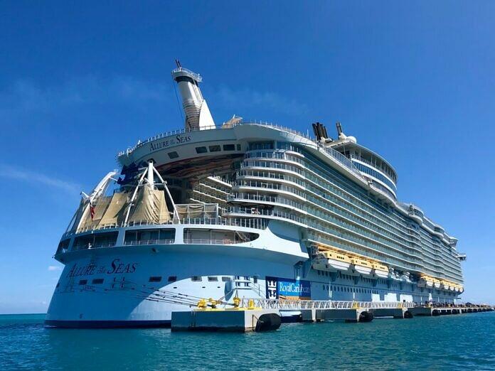 white cruise ship on sea during daytime