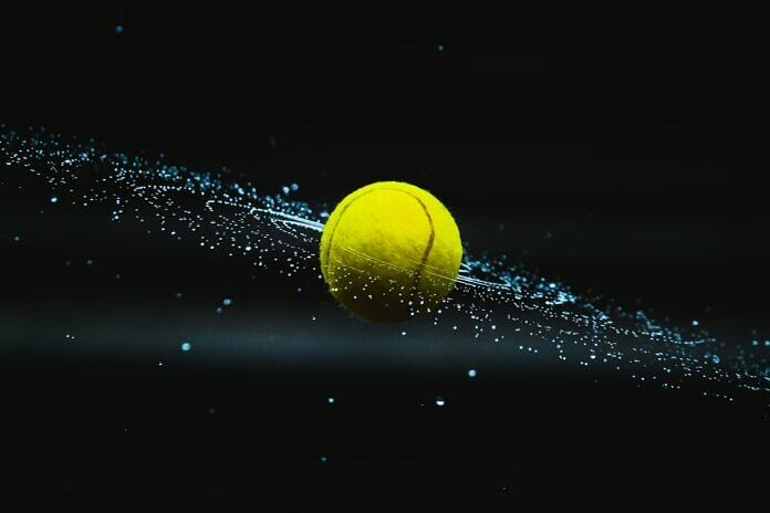 yellow ball on water during night time